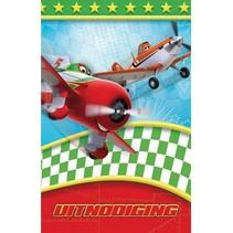 Interstat - Uitnodigingskaart - Cars planes - 6st.