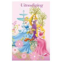 Interstat - Uitnodigingskaart - Prinsessen - 6st.
