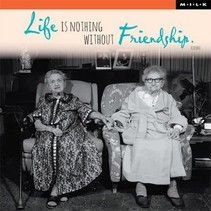MILK - Kaart - Life is nothing without friendship