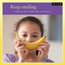 MILK - Kaart - Keep smiling...