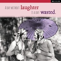 MILK - Kaart - A day without laughter...