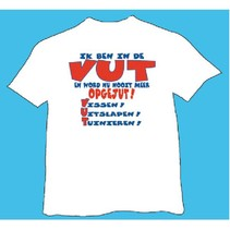 T-shirt - Ik ben in de VUT