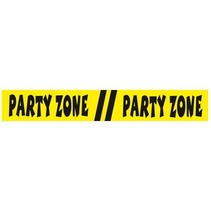Folat - Afzetlint - Party Zone - 15m