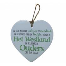 Miko - Westland - Hart - Liefste ouders uit Het Westland