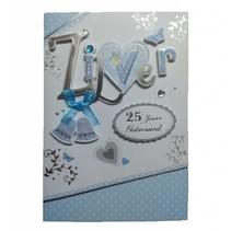 Card Xpress - Kaart - 25 Jaar getrouwd