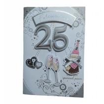 Card Xpress - Kaart - 25 Jaar een speciaal paar