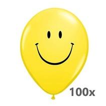 Globos - Ballonnen - Smiley  - 100 stuks