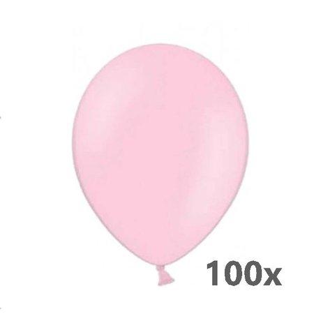 Belbal  Ballonnen - Lichtroze - 30cm. - 100st.