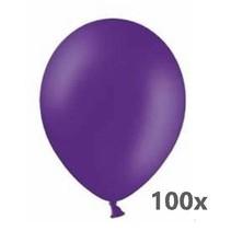 Ballonnerie - Ballonnen - Paars - 100st.
