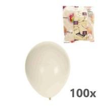 Balloonia - Ballonnen - Wit - 100st.