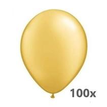 Globos - Ballonnen - Goud - 100st.