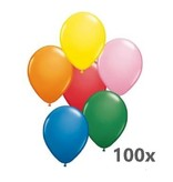 Ballonnerie - Ballonnen - Gekleurd - 100st.
