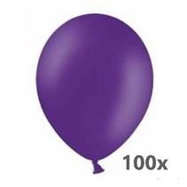 De ballonnerie - Ballonnen - Paars - 100st.