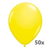 Folat - Ballonnen - Geel - Metallic - 50st.