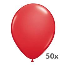 Folat - Ballonnen - Rood - 50st.