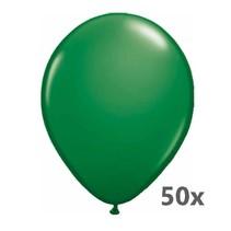 Folat - Ballonnen - Donkergroen - Metallic - 50st.