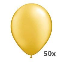 Folat - Ballonnen - Goud - Metallic - 50st.