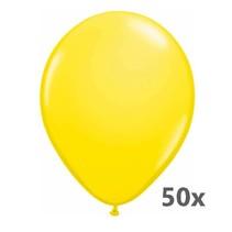 Folat - Ballonnen - Geel - 50st.