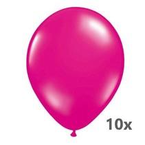 Folat - Ballonnen - Magenta - 10st.