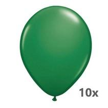 Folat - Ballonnen - Metallic - Groen - 10st.