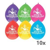Haza - Ballonnen - Welkom Sinterklaas - 10st.