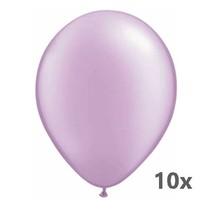 Folat - Ballonnen - Lavender/paars - Metallic - 10st.