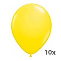 Folat - Ballonnen - Geel - 10st.