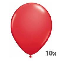 Folat - Ballonnen - Rood - 10st.