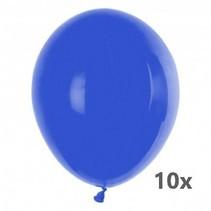 Folat - Ballonnen - Donkerblauw - 10st.