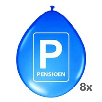 Folat - Ballonnen - Pensioen - 8st.