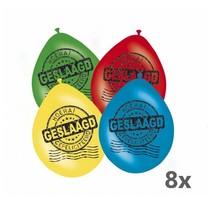 Folat - Ballonnen - Geslaagd - 30cm - 8st