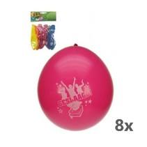 PartyXplosion - Ballonnen - Geslaagd - 8st.