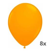 Folat - Ballonnen - Neon oranje - 8st.