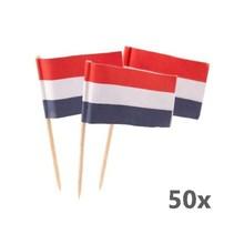 Folat - Prikkers - Nederlandse vlag - RWB - 50st.