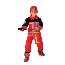 PartyXplosion - Kostuum - Brandweer - Rood