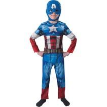 PartyXplosion - Kostuum - Captain America - Classic
