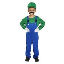 Partychimp - Loodgieter - Luigi - Groen
