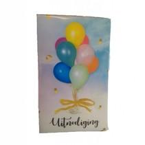Interstat - Uitnodigingskaarten - Ballonnen - 6st.