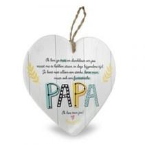 Miko - Baby Collectie - Stenen hart - Papa