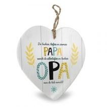 Miko - Baby Collectie - Stenen hart - Papa wordt Opa