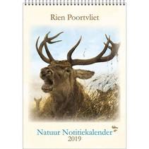 Comello - Kalender - Rien Poortvliet - Maandnotitiekalender - Edelhert - A4