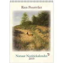Comello - Kalender - Rien Poortvliet - Maandnotitiekalender - Hert - A4