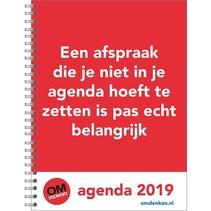 Comello - Bureau-agenda - Omdenken - 17x23cm