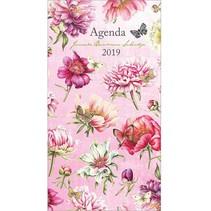 Comello - Bureau-agenda - Janneke Brinkman - Lady-agenda - Pioen - 9x17cm