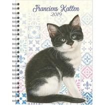 Comello - Bureau-agenda - Franciens katten - Kitten - 16x23cm