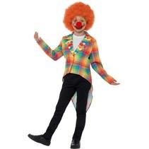 Smiffys - Kostuum - Slipjas - Clown - Neon