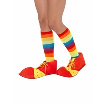 Smiffys - Schoenovertrekken - Clown - Stof