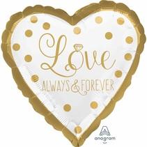 Anagram - Folieballon - Love always and forever