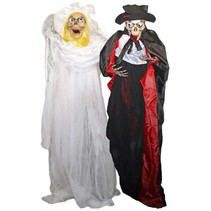 Folat - Hangend bruid & bruidegom skelet