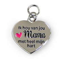 Charms for you - Bedeltje - Mama